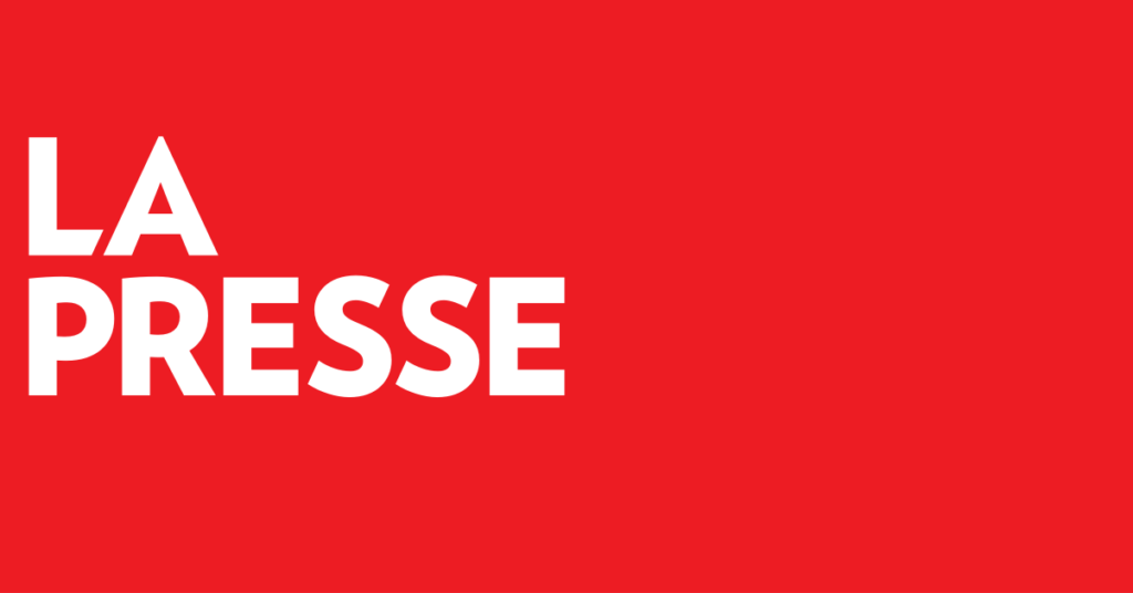 Mention aérosol La Presse